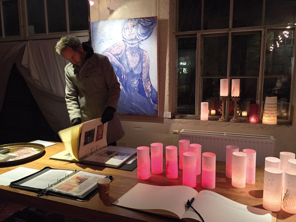 Claudia Grögler / Wiede Fabrik / Offene Ateliers Winter 2016