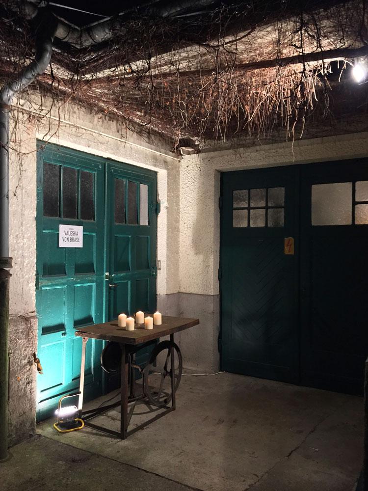 Valeska von Brase / Wiede Fabrik / Offene Ateliers Winter 2016