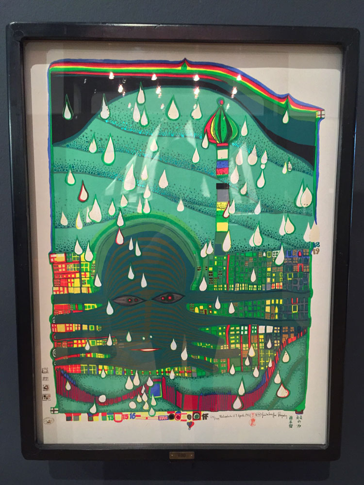 Werbung / Friedensreich Hundertwasser | Schön & Gut 2016 | Buchheim Museum