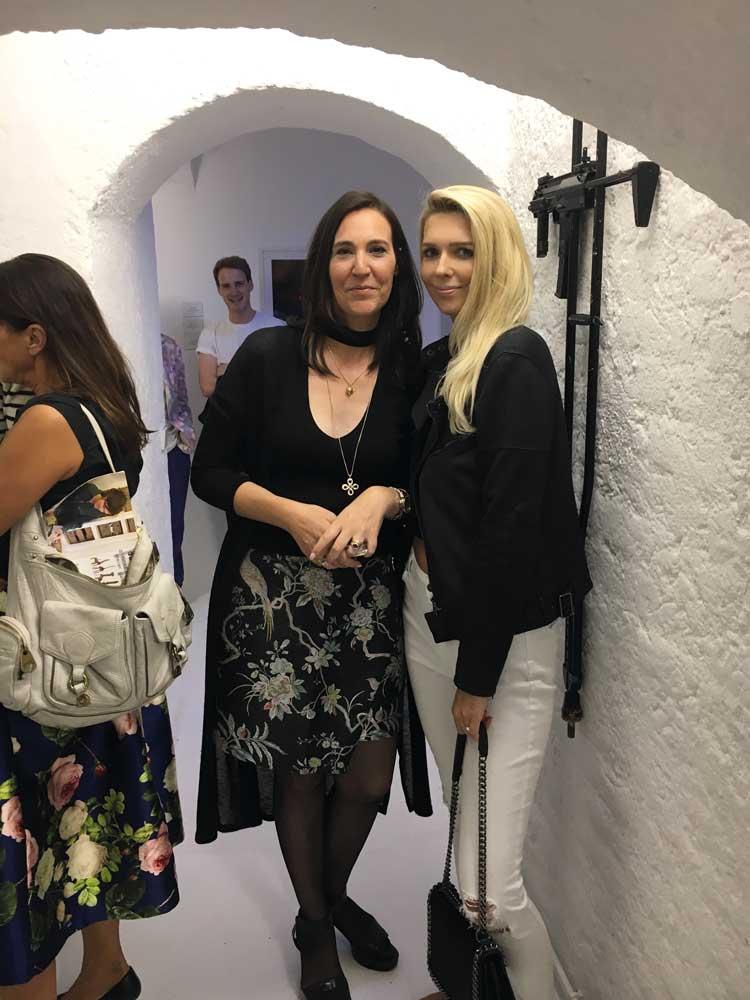 Zusammen mit meiner Freundin Vera vom Lifestyle-Blog La-Blonde.com die neue Kunstlocation erkundet