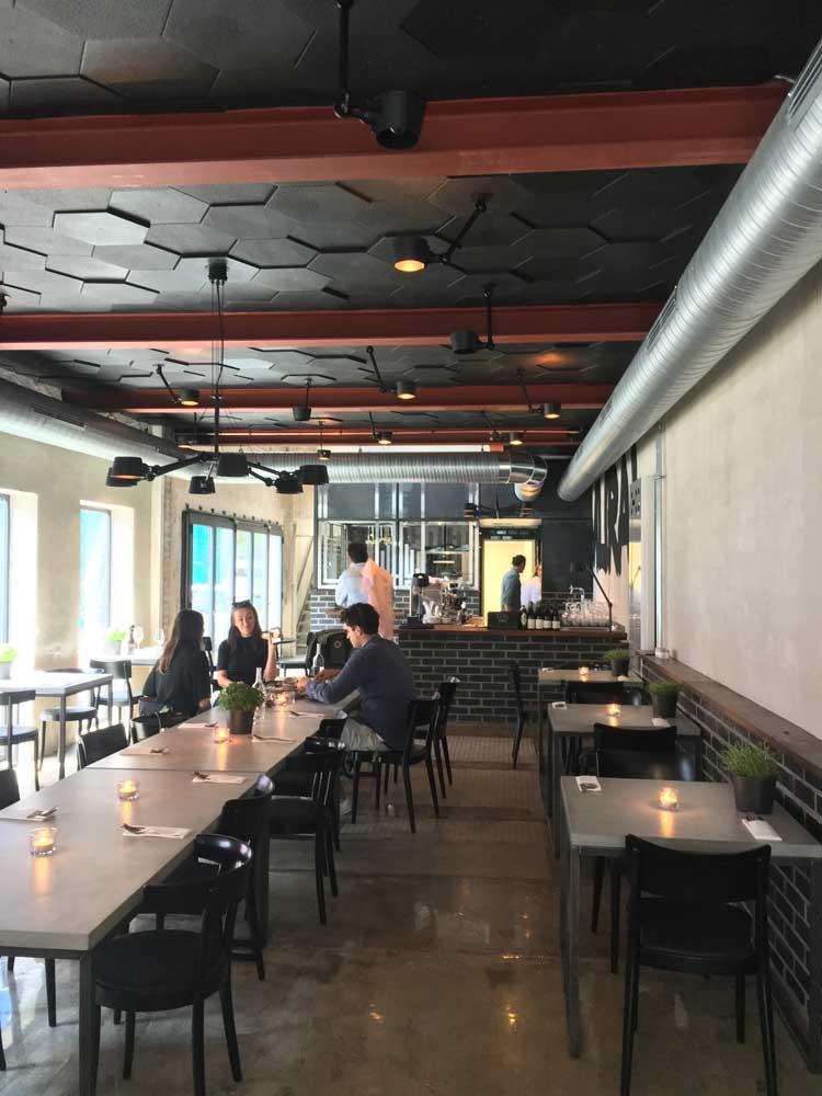 Das neue Museums-Restaurant MURAL bietet seit dem 12.7. von Mittwoch bis Sonntag Lunch, Kaffee