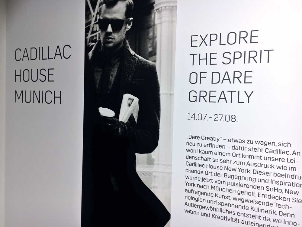 STROKE – A DARING PREVIEW / Cadillac House Munich