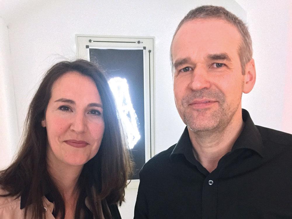 Mit Stephan Stumpf, Inhaber der GALERIE STÖRPUNKT