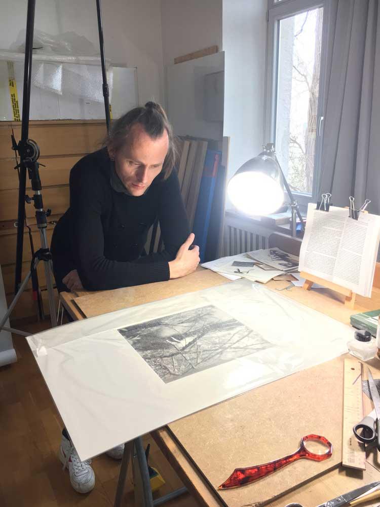 Atelierbesuch bei Künstler Thomas Sing