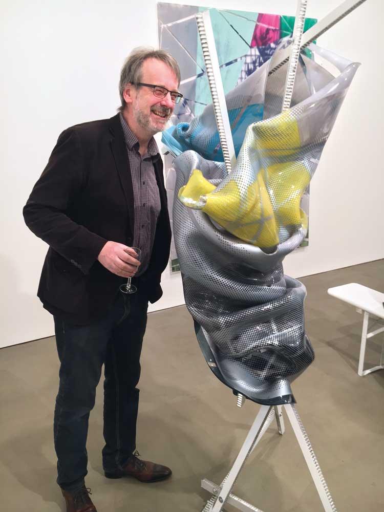 Künstler Paul Schwer / Galerie Karl Pfefferle