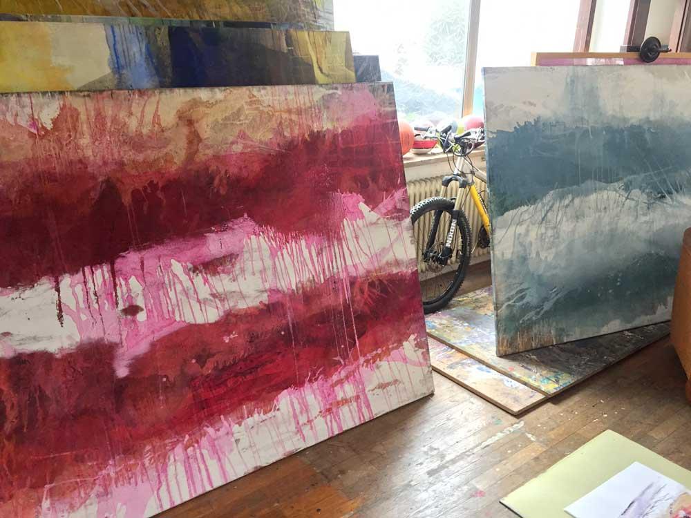 Atelierbesuch bei Bildpark Gallery Künstler Jürgen Welker