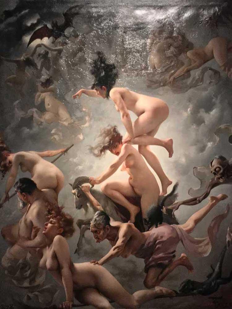 Du bist Faust / Luis Ricardo Falero / Kunsthalle München