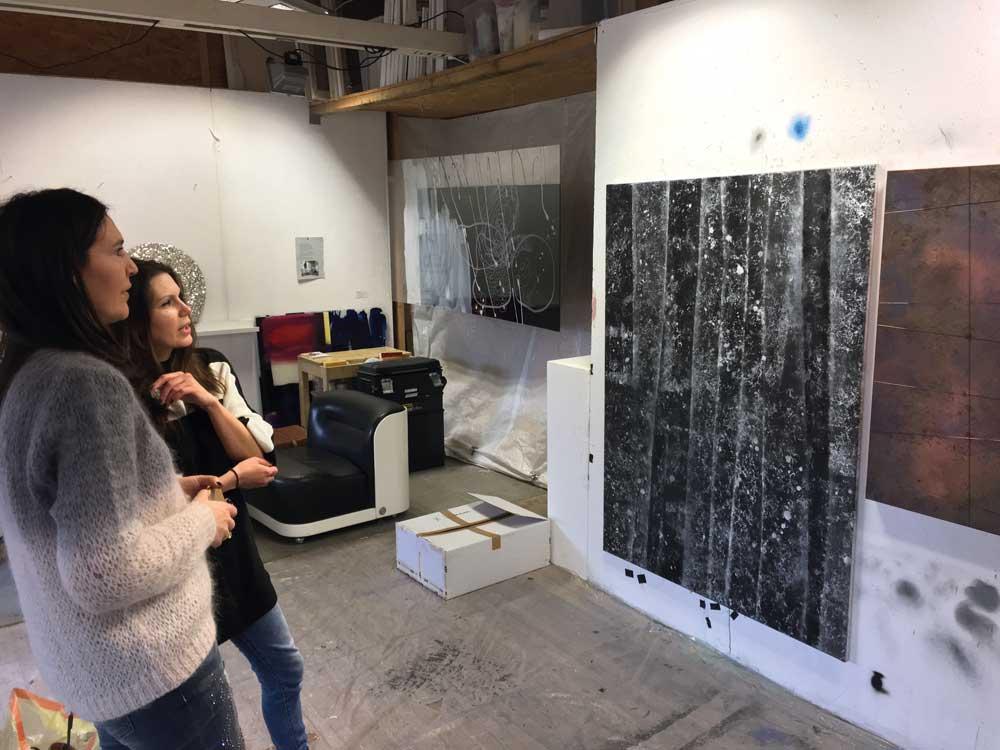 Claudine und Katharina Lehmann / Engl Atelierhaus