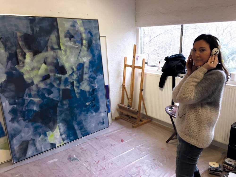 Claudine bei Lea Jade / Engl Atelierhaus
