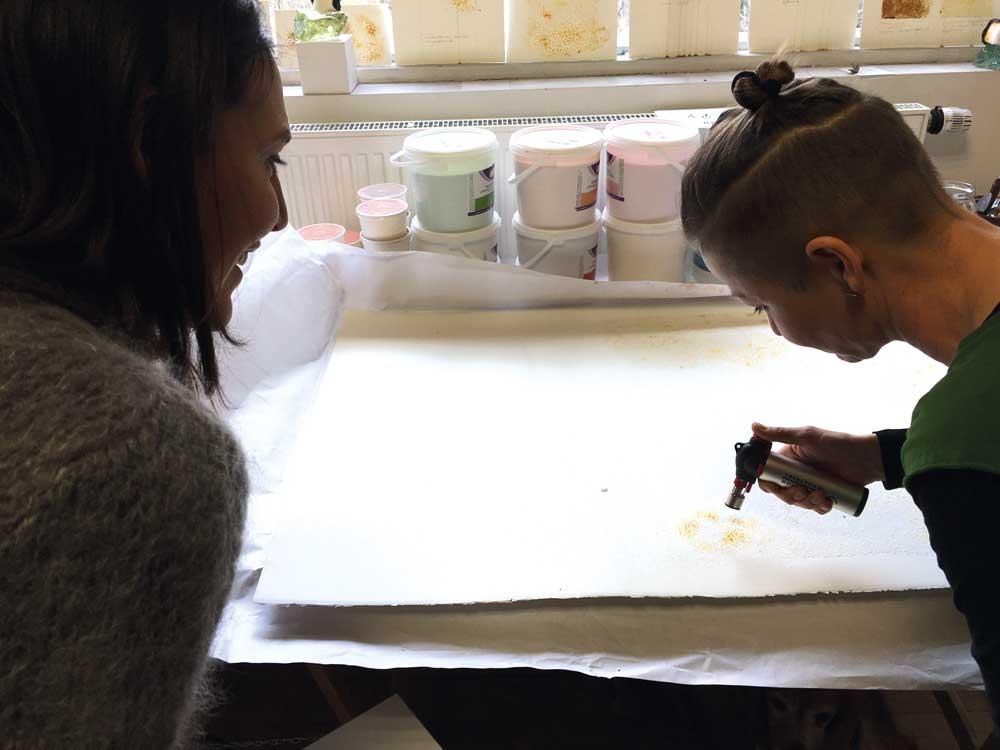 Claudine und Susanne Pirklbauer / Engl Atelierhaus