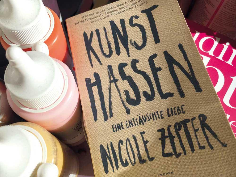 KUNST HASSEN | Nicole Zepter | Klett-Cotta Verlag