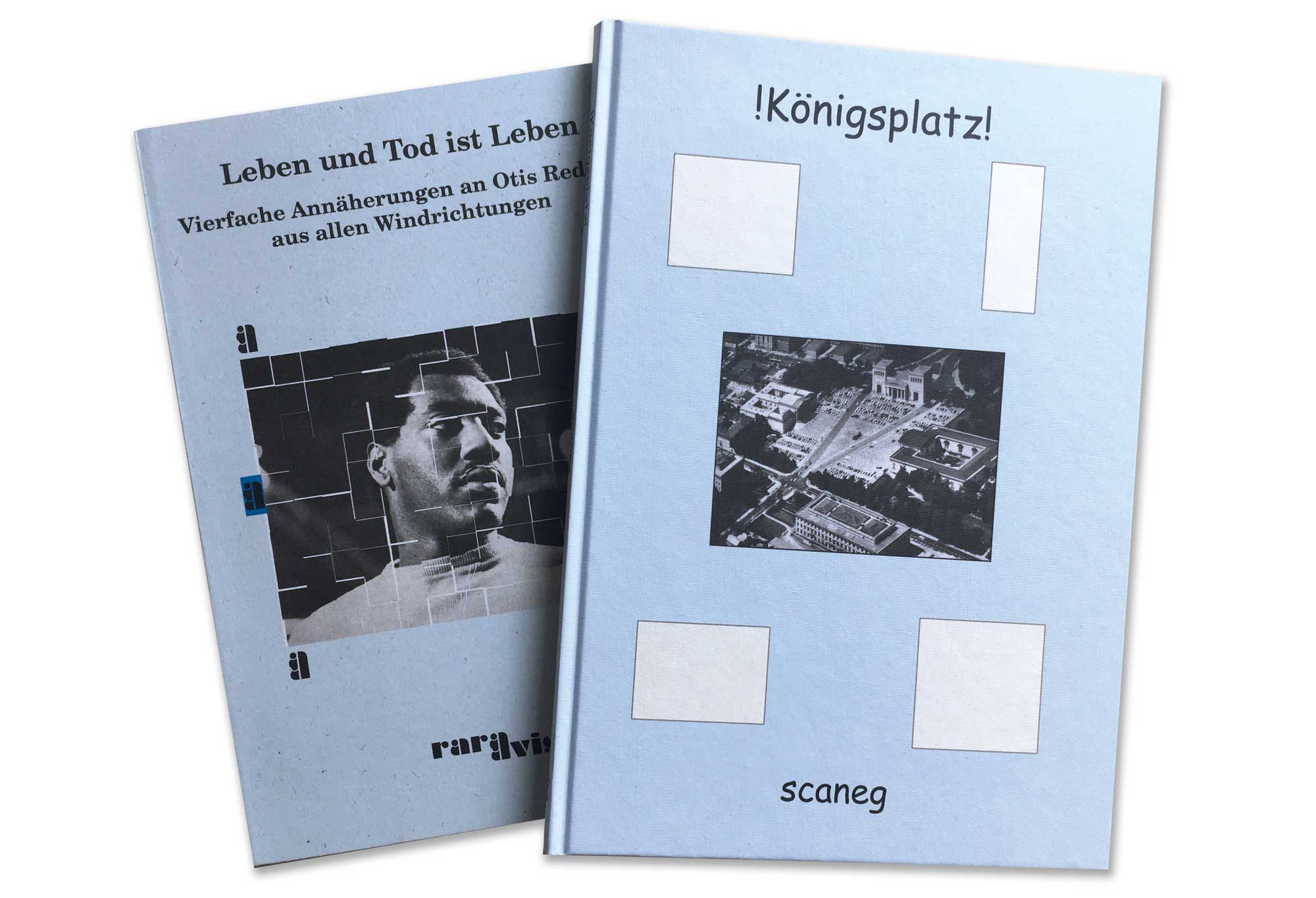 !Königsplatz! & Otis Redding – Leben und Tod ist Leben Ι scaneg verlag
