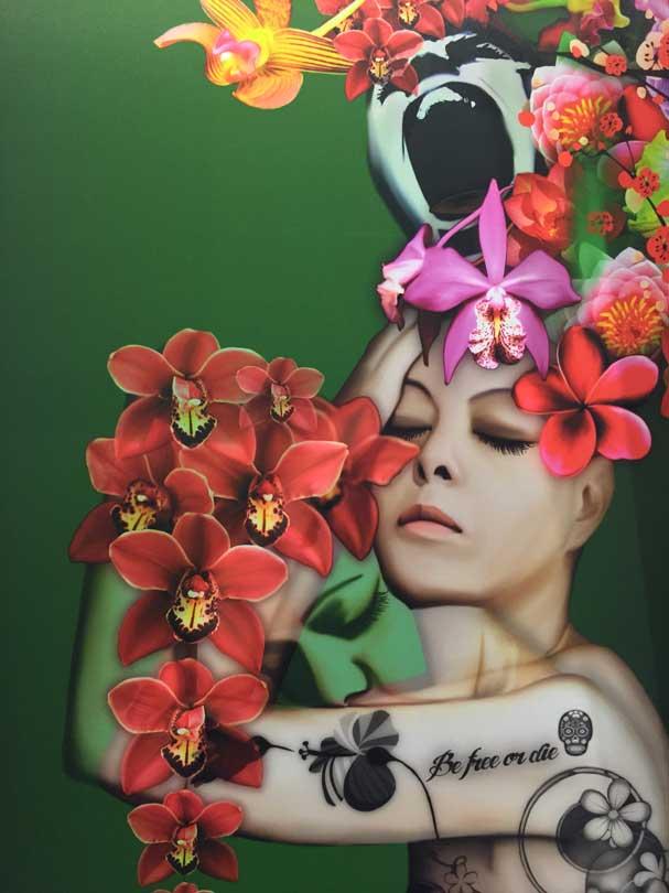 Fotokunst der Künstlerin FLACA –Vertreten auf der ARTMUC durch Bildpark Gallery