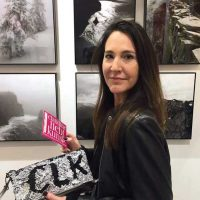 ARTMUC 2nd Edition 2018 / Claudine vor Fotografien von Emmanuel Julien