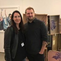 ARTMUC 2nd Edition 2018 / Claudine mit Daniel Sommergruber