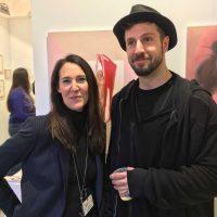 ARTMUC 2nd Edition 2018 / Claudine mit Florian Hagen