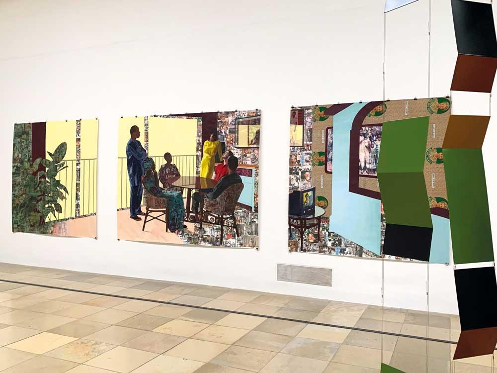 Innenleben – Haus der Kunst – Njideka Akunyili Crosby