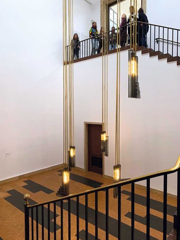 Innenleben – Haus der Kunst – Leonor Antunes
