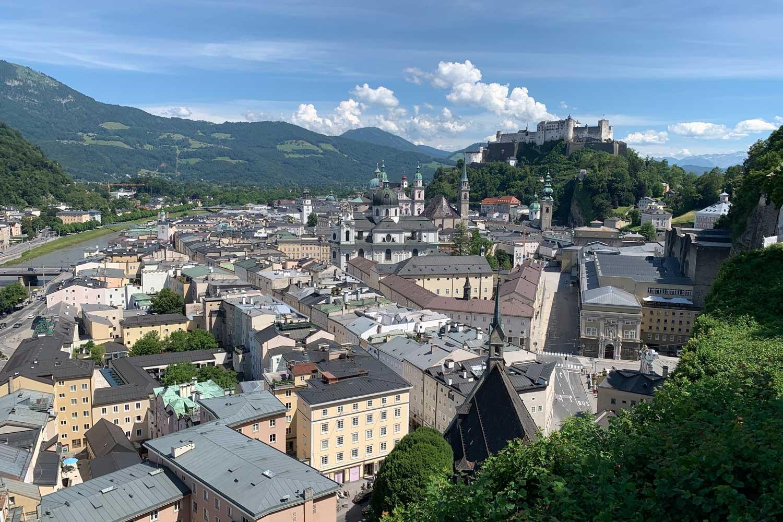 Ausblick Museum der Moderne Salzburg