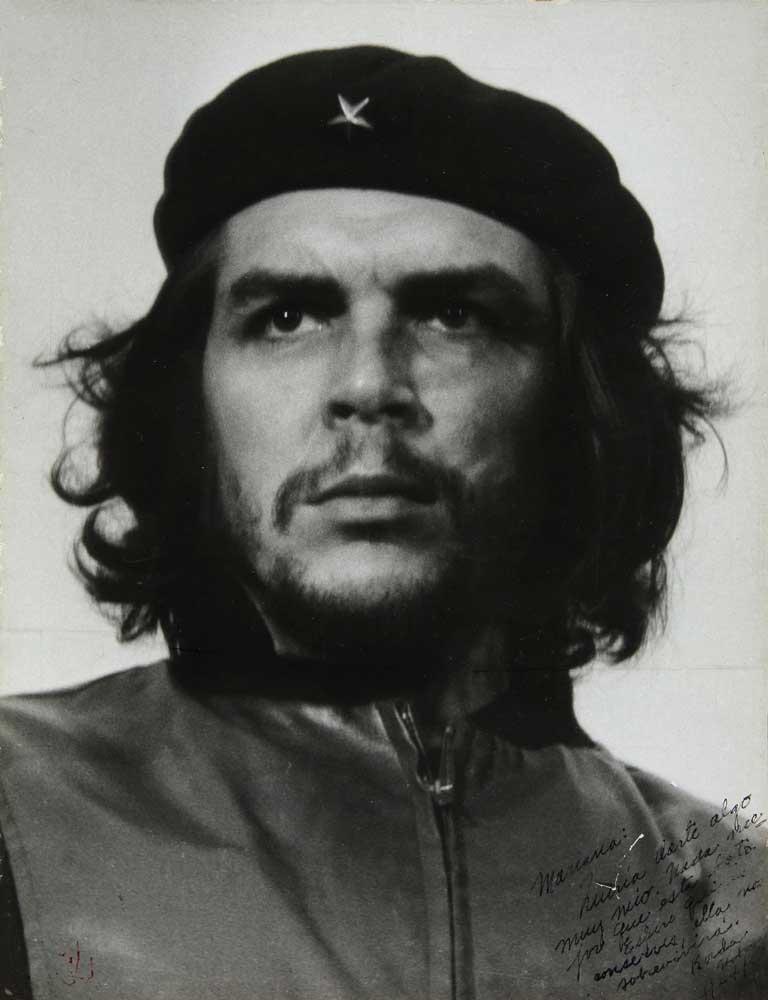Alberto Korda, El Guerrillero Heroico, 1960/1967, Estate of Alberto Korda, © Bildrecht Wien 2021; Skrein Photo Collection