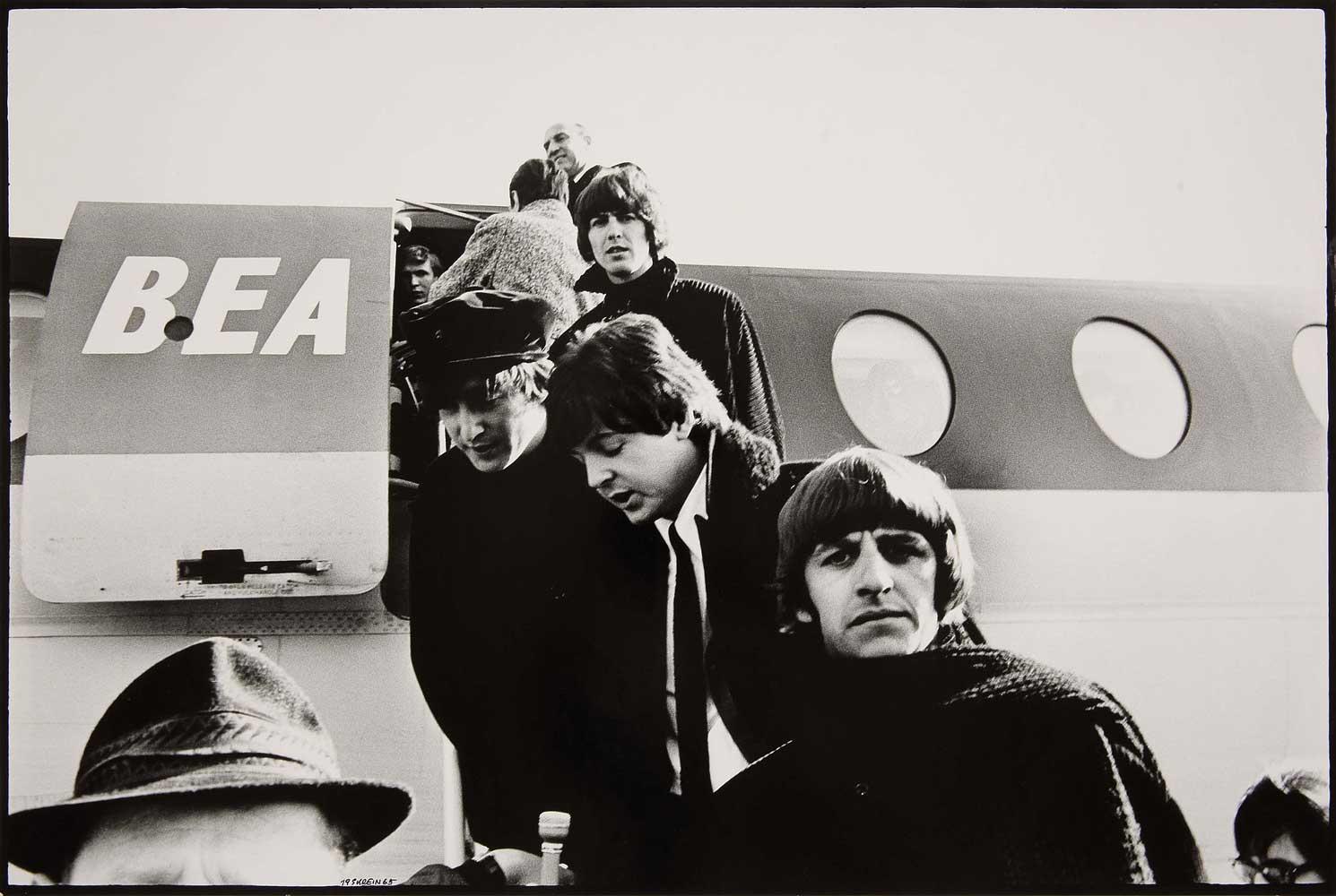 Christian Skrein, Die Beatles, Salzburg, 13. März 1965, © Skrein Photo Collection